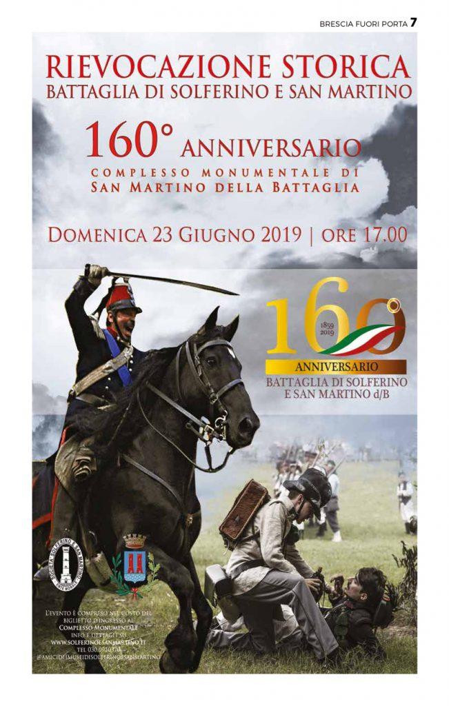 Giorno Di San Martino Calendario.Il 23 Giugno 2019 La Rievocazione Storica Della Battaglia A